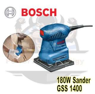 [NEW] BOSCH GSS1400 FINISHING SANDER / PALM SANDER
