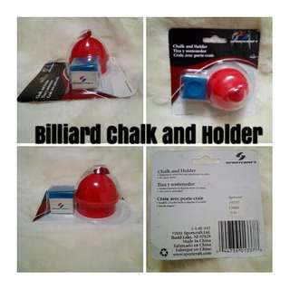Billiards Chalk and Holder