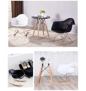 Eames Rocking Chair (Black)