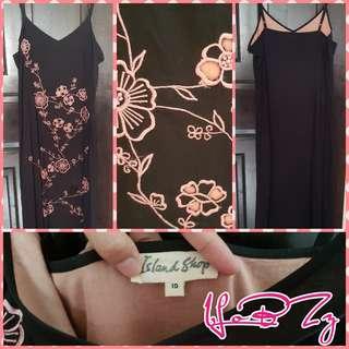 🚚 Island Shop Long Dress (Size 10)