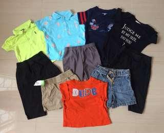 Assrtd clothes 9-12mos baby boy
