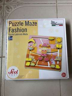 Sevi puzzle maze fashion 3 in 1