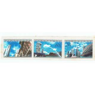 2004  24   Mint Stamp Singapore Skyline