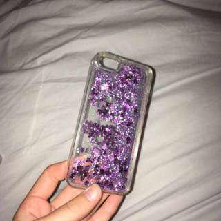 iPhone 5/s/se Glitter shake case