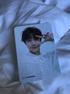 WTT : Hyungwon The Connect Photocard Monsta X