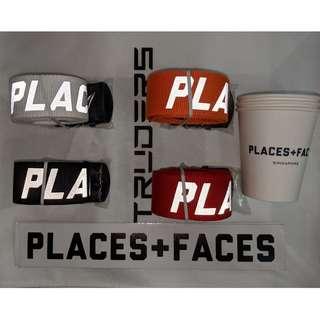 Places + Faces 3M reflective Logo Belt