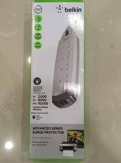 Belkin F9H410SA2M Home Series 4-Socket Surge Protector