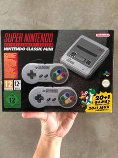 SNES Super Nintendo Mini Classic modded UK version