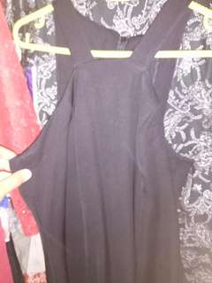 Sexy Dress Pesta Polos Hitam