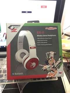 獨角獸高達無線耳機  Gundam Unicorn wireless Stereo Headphone