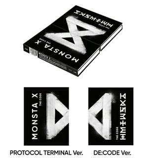 MONSTA X THE CODE ALBUM