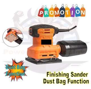 DBA FINISHING SANDER WITH DUST BAG FUNCTION
