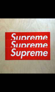 Supreme sticker , $20 for 1
