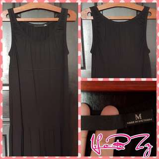 🚚 Uniqlo Black Long Dress