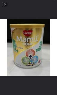 Dumex mamil gold stage 3 400g 3 tins
