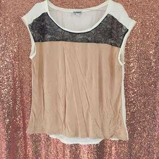 Express brukat blouse
