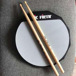 vic firth practice pad 12吋