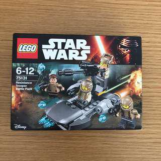 [Sealed] Lego 75131 Star Wars Resistance Trooper Set