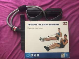 Tummy Action Rower
