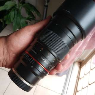 Samyang 135mm ED UMC f2 (sony mount) telephoto lens