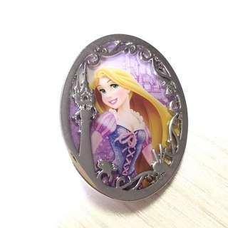 迪士尼 巴黎 襟章 徽章 Disney Paris Pin 長髮公主 Rapunzel
