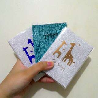Glittery mini notebook
