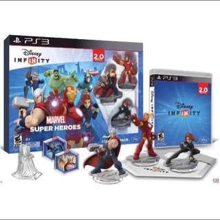 BRAND NEW IN BOX : PS3 Disney Infinity Marvel Starter Pack