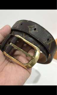 Used authentic LV belt