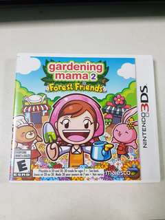 🚚 [3DS GAME] GARDENING MAMA 2 FOREST FRIENDS