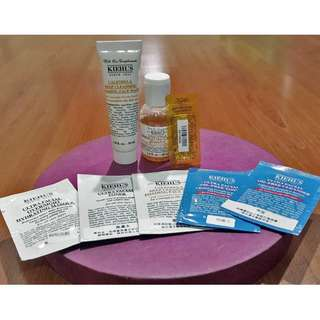 75% NEW Kiehl's Calendula Toner and Foaming Wash + NEW Samples + FREE GIFT!