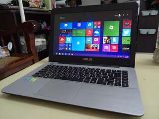 Asus Thin i5/win8/8Gb/1000Gb hdd/14.5inch/2Gb Gaming