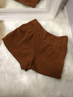 Rust Coloured Shorts F21