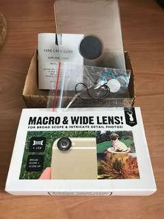 Macro & Wide Lens - Typo