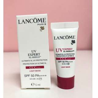🚚 Lancome UV Expert XL-Shield Ultimate XL UV Protection SPF50 PA++++ CCCover 5ml