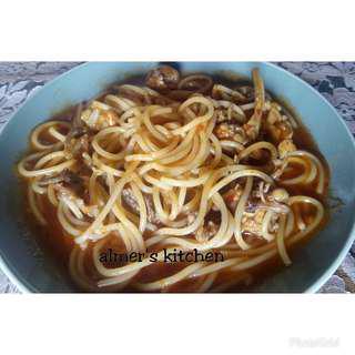 Spaghetti tulang