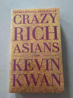 Brand new crazy rich asian novel for sale