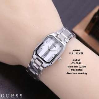 Jam Tangan GUESS Silver