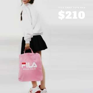 Fila 2 way tote bag