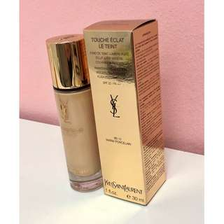 🚚 YSL Touche Eclat Le Teint Awakening Foundation Weightless Radiance Flawless Coverage SPF22/PA++, 30ml, #BD10 Warm Porcelain