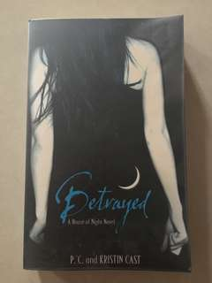 Betrayed by PC and Kristin Cast novel for sale