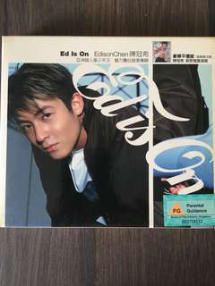 3 for $10 - Ed Is On Edison Chen 陈冠希首张专辑 + Poster