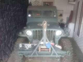 Jual jeep wilis tahun 45
