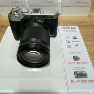 Kredit Camera Canon Eos M6, Proses Acc 3 Menit