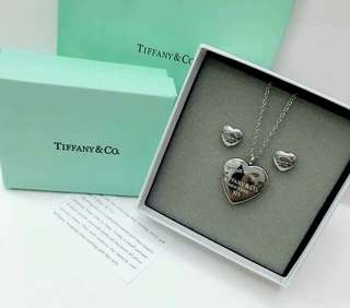 Tiffany & co. Necklace and Earings set