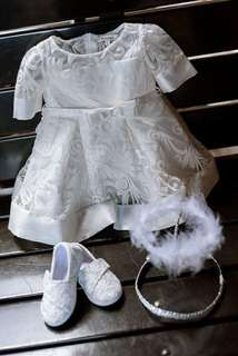 Baptismal Gown Baby White Dress Rustans