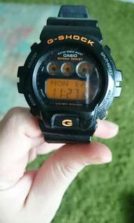 GSHOCK G-6900D BLACK ORANGE