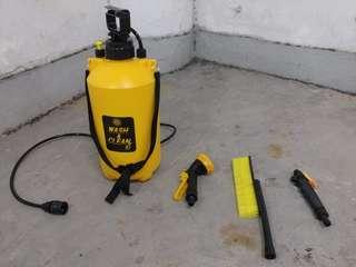 洗車神器-免駁水喉便攜式高壓手動洗車手槍連刷
