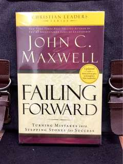 《New Book Condition + Nothing Wrong With Failure, Even The Most Godly Person Is Destined To Fail》John C. Maxwell - FAILING FORWARD : Turning Mistakes into Stepping Stones for Success