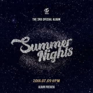 [PREORDER] TWICE - Summer Nights