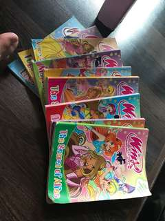 Winx club graphic Novel